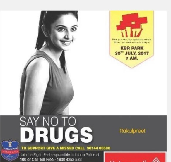 Rakul Preet In Drug Web; Once Said No To Drugs, Now?